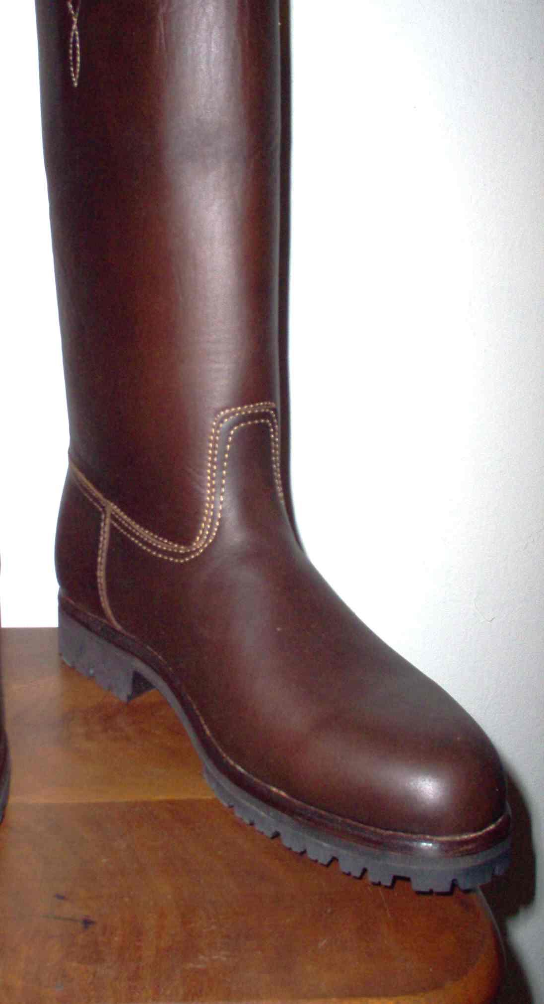 engrasado botas